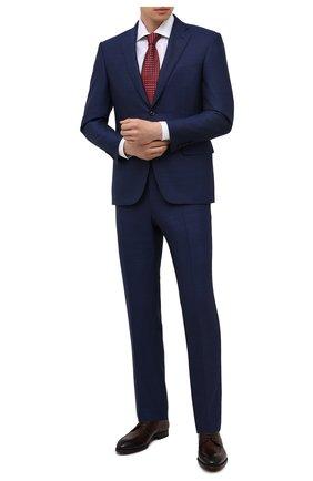 Мужские кожаные дерби MAGNANNI коричневого цвета, арт. 22729/WIND | Фото 2