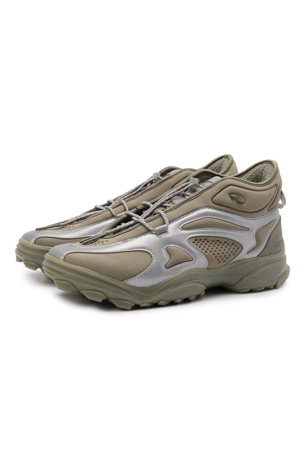 Мужские кроссовки adidas x 032c gsg running tr ADIDAS хаки цвета, арт. FY5376   Фото 1 (Материал внешний: Текстиль; Материал внутренний: Текстиль; Подошва: Массивная)