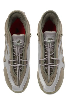 Мужские кроссовки adidas x 032c gsg running tr ADIDAS хаки цвета, арт. FY5376   Фото 5 (Материал внешний: Текстиль; Материал внутренний: Текстиль; Подошва: Массивная)