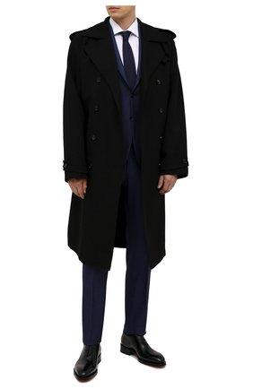 Мужские кожаные оксфорды SANTONI черного цвета, арт. MCCG16229MD3HVVDN01 | Фото 2