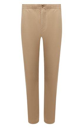 Мужские хлопковые брюки POLO RALPH LAUREN бежевого цвета, арт. 710740566 | Фото 1