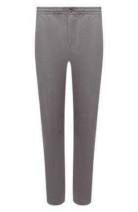 Мужские хлопковые брюки POLO RALPH LAUREN серого цвета, арт. 710740566 | Фото 1