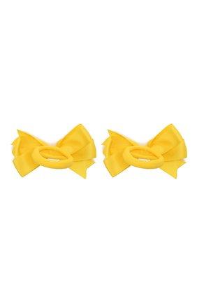 Детская комплект из двух резинок JUNEFEE желтого цвета, арт. 6427 | Фото 2