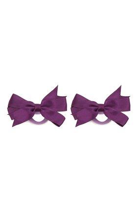 Детская комплект из двух резинок JUNEFEE фиолетового цвета, арт. 6223 | Фото 1