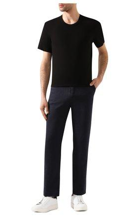 Мужская хлопковая футболка JAMES PERSE черного цвета, арт. MLJ3311   Фото 2