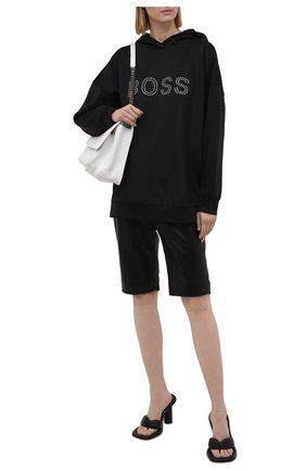 Женский худи BOSS черного цвета, арт. 50448399   Фото 2