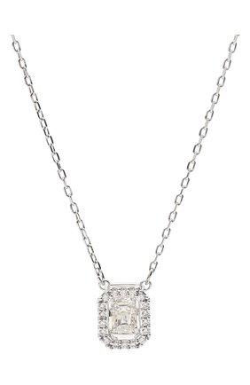 Женская кулон на цепочке кольцо millenia SWAROVSKI серебряного цвета, арт. 5599177 | Фото 2