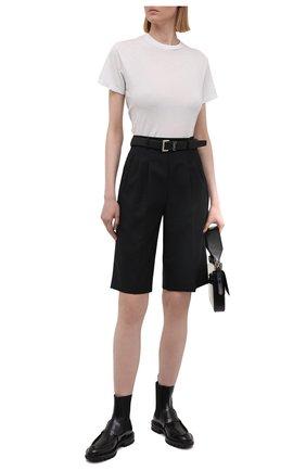 Женские кожаные ботинки SANTONI черного цвета, арт. WTRR59529HL1NBCKN01 | Фото 2