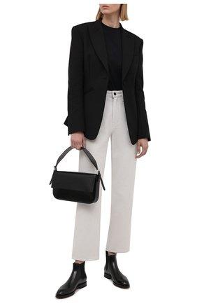 Женские кожаные ботинки SANTONI черного цвета, арт. WTYG57515BA1NVHWN01 | Фото 2