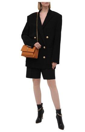 Женские кожаные ботильоны GIANVITO ROSSI черного цвета, арт. G73212.15RIC.NAPNER0 | Фото 2