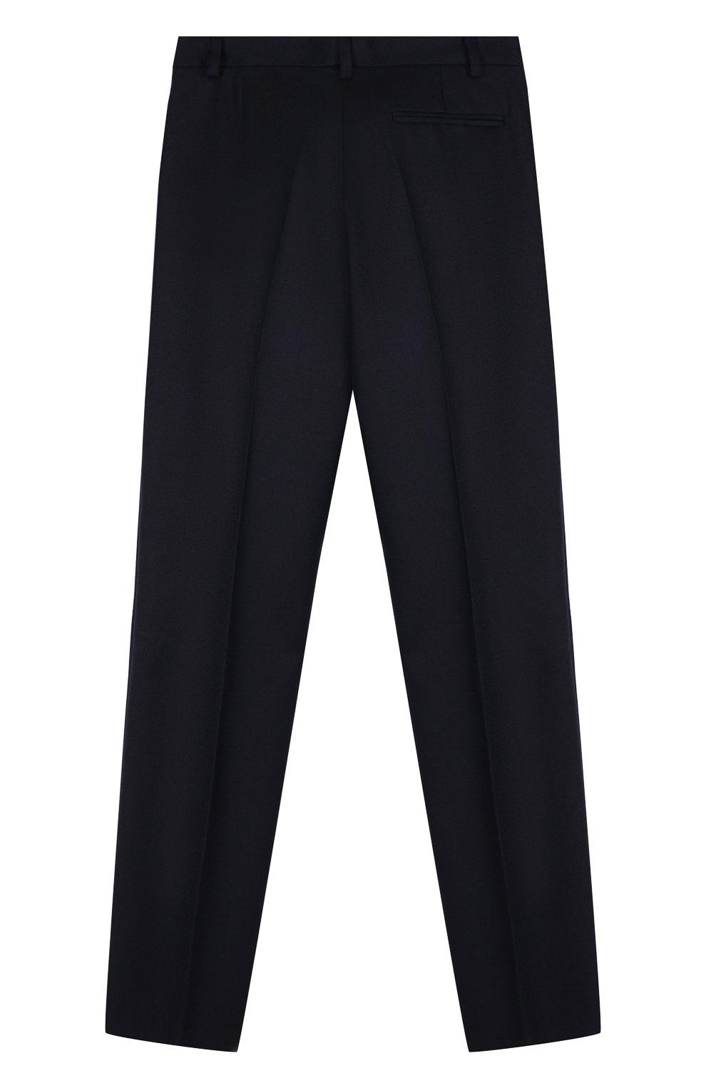 Шерстяной костюм с пиджаком на двух пуговицах | Фото №4