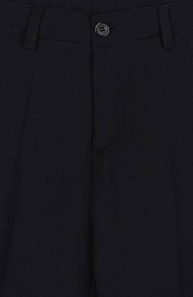 Шерстяной костюм с пиджаком на двух пуговицах | Фото №5