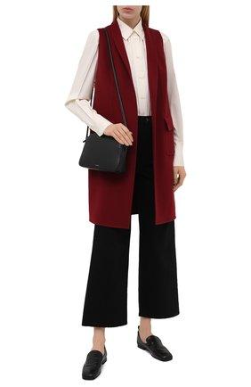 Женский кашемировый жилет LORO PIANA бордового цвета, арт. FAG3518 | Фото 2