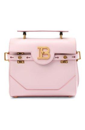 Женская сумка buzz 23 BALMAIN розового цвета, арт. WN1DB526/LVPT | Фото 1