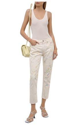 Женские джинсы POLO RALPH LAUREN разноцветного цвета, арт. 211834019 | Фото 2 (Материал внешний: Хлопок; Длина (брюки, джинсы): Стандартные; Стили: Кэжуэл; Кросс-КТ: Деним; Силуэт Ж (брюки и джинсы): Узкие)