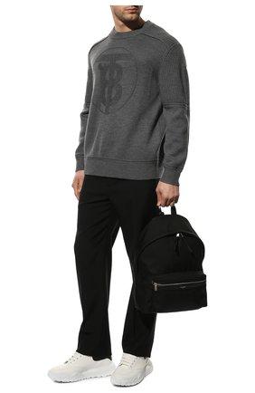 Мужские кожаные кроссовки ALEXANDER MCQUEEN белого цвета, арт. 634619/WIA99 | Фото 2