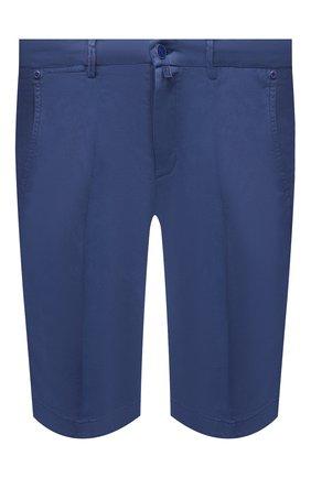Мужские шорты KITON синего цвета, арт. UFBLACJ07T37 | Фото 1
