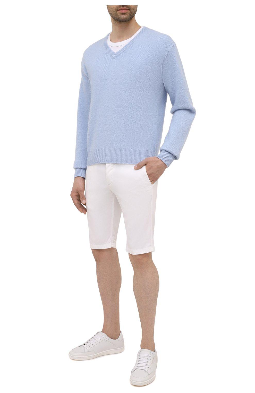 Мужские шорты KITON белого цвета, арт. UFBLACJ07T37   Фото 2