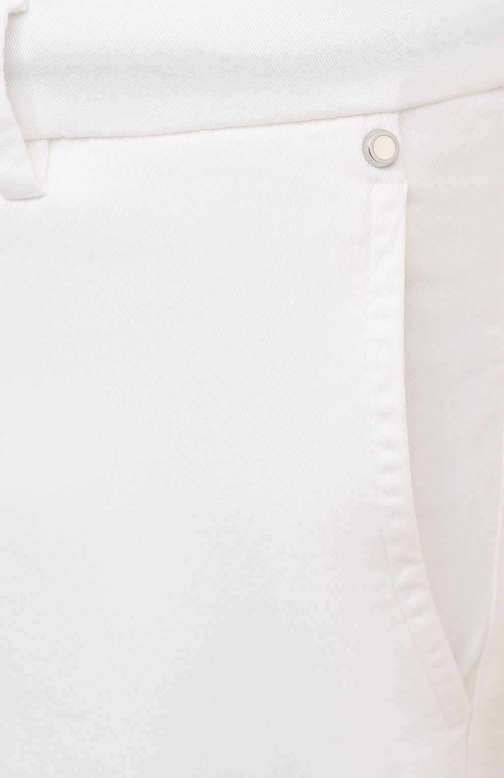 Мужские шорты KITON белого цвета, арт. UFBLACJ07T37   Фото 5