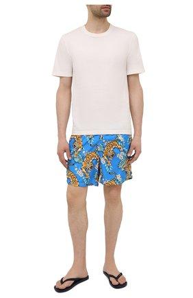 Мужские плавки-шорты MC2 SAINT BARTH синего цвета, арт. STBM LIGHTING/LIG0001 | Фото 2