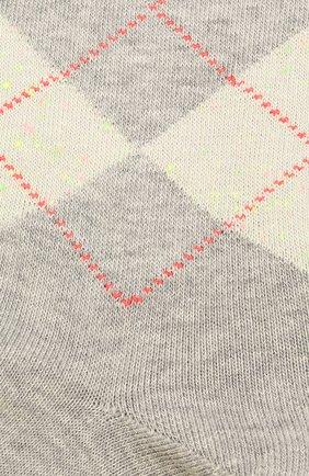 Мужские хлопковые носки BURLINGTON светло-серого цвета, арт. 21059 | Фото 2