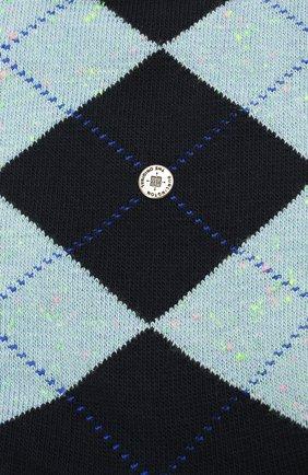 Мужские хлопковые носки BURLINGTON темно-синего цвета, арт. 21059 | Фото 2