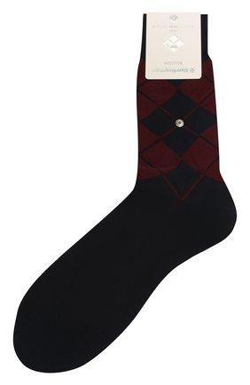 Мужские хлопковые носки BURLINGTON темно-синего цвета, арт. 21060 | Фото 1