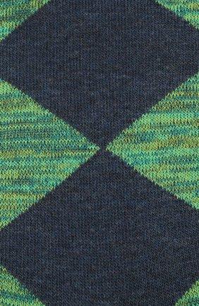 Мужские хлопковые носки BURLINGTON зеленого цвета, арт. 21062 | Фото 2