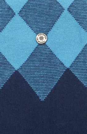 Мужские хлопковые носки BURLINGTON темно-синего цвета, арт. 21912 | Фото 2