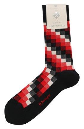 Мужские хлопковые носки BURLINGTON красного цвета, арт. 21933 | Фото 1