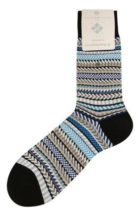 Мужские хлопковые носки BURLINGTON разноцветного цвета, арт. 21944 | Фото 1