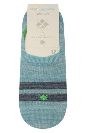 Мужские хлопковые носки BURLINGTON голубого цвета, арт. 21927 | Фото 1