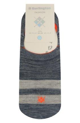 Мужские хлопковые носки BURLINGTON синего цвета, арт. 21927 | Фото 1