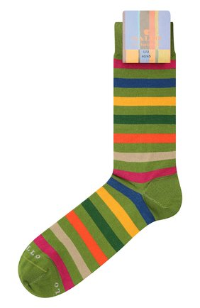 Мужские хлопковые носки GALLO зеленого цвета, арт. AP103161 | Фото 1