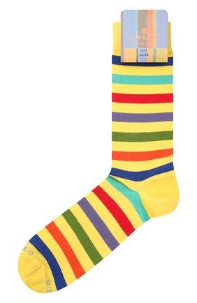 Мужские хлопковые носки GALLO желтого цвета, арт. AP103161 | Фото 1