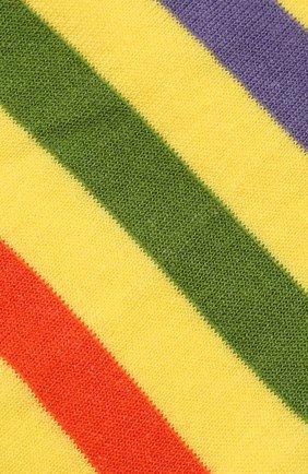 Мужские хлопковые носки GALLO желтого цвета, арт. AP103161 | Фото 2