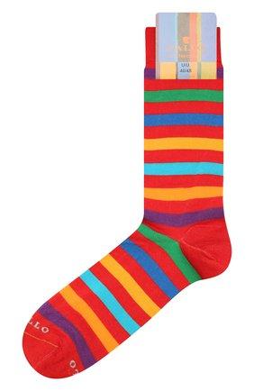 Мужские хлопковые носки GALLO красного цвета, арт. AP103161 | Фото 1