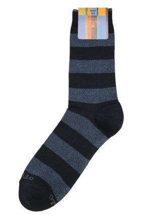 Мужские хлопковые носки GALLO синего цвета, арт. AP103551 | Фото 1