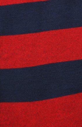 Мужские хлопковые носки GALLO красного цвета, арт. AP103551 | Фото 2
