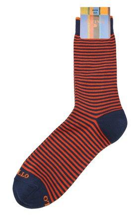 Мужские хлопковые носки GALLO оранжевого цвета, арт. AP103650 | Фото 1
