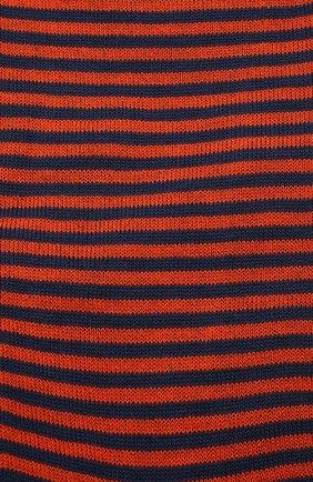 Мужские хлопковые носки GALLO оранжевого цвета, арт. AP103650 | Фото 2
