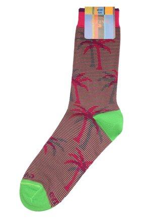 Мужские хлопковые носки GALLO розового цвета, арт. AP511693 | Фото 1