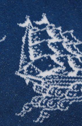 Мужские носки GALLO синего цвета, арт. AP511705 | Фото 2