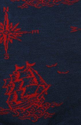 Мужские носки GALLO темно-синего цвета, арт. AP511705 | Фото 2
