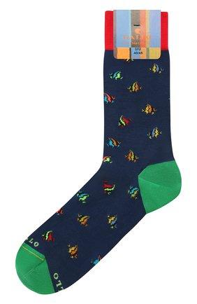 Мужские носки GALLO темно-синего цвета, арт. AP511711 | Фото 1