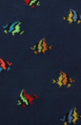 Мужские носки GALLO темно-синего цвета, арт. AP511711 | Фото 2