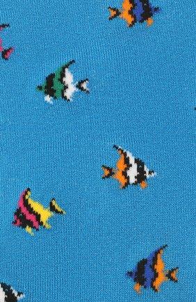 Мужские носки GALLO бирюзового цвета, арт. AP511711 | Фото 2