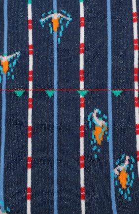 Мужские носки GALLO темно-синего цвета, арт. AP511730 | Фото 2
