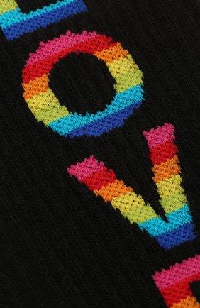 Мужские хлопковые носки GALLO черного цвета, арт. AP511900 | Фото 2