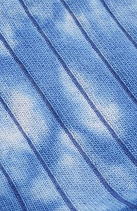 Мужские хлопковые носки GALLO голубого цвета, арт. AP511990 | Фото 2